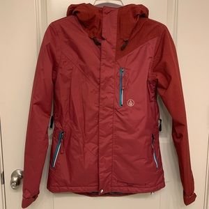 Volcom Maroon ski / snowboard jacket